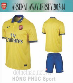 Áo Arsenal 2013-2014 sân khách