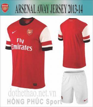 Áo Arsenal 2013-2014 sân nhà