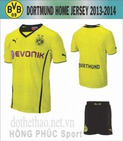 Áo Dormund 2013-2014 sân nhà
