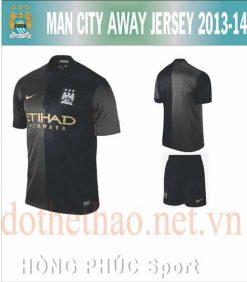 Áo Manchester City sân khách 2013-2014