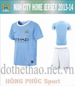 Áo Manchester City 2013-2014 sân nhà