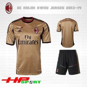 Áo AC Milan 2013-2014 sân khách