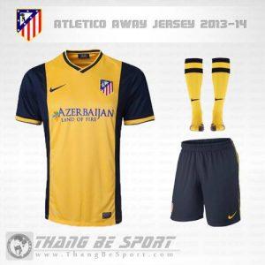 Áo Atletico Madrid 2013-2014 sân khách