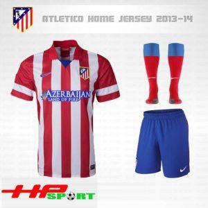 Áo Atletico Madrid 2013-2014 sân nhà