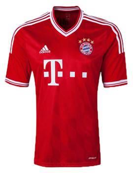 Áo Bayern Munich 2013-2014 sân nhà
