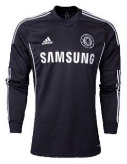 áo CLB Chelsea đen tay dài 2013-2014, áo đấu Chelsea tay dài sân khách 2013-2014