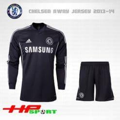 Áo Chelsea đen tay dài 2013-2014
