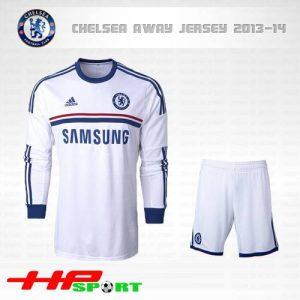 Áo Chelsea tay dài 2013-2014 sân khách