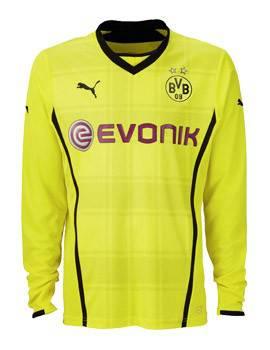 Áo Dortmund sân nhà 2013-2014 tay dài