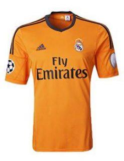 Áo Real Madrid 2013-2014 màu cam