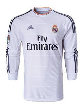 Áo Real Madrid sân nhà 2013-2014 tay dài Áo Real Madrid sân nhà 2013-2014 tay dài