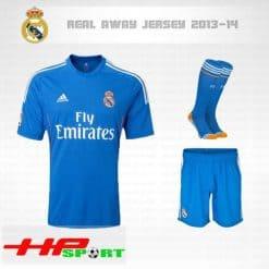 Áo Real Madrid sân khách 2013-2014