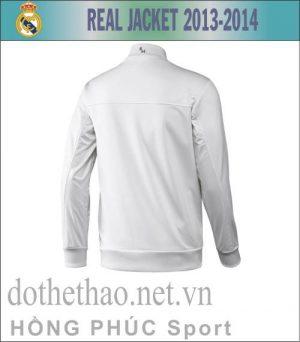 Áo khoác Real Madrid 2013-2014 trắng
