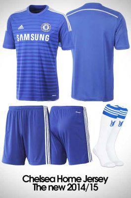 quần bóng đá sân nhà CLB Chelsea sân nhà 2014 – 2015