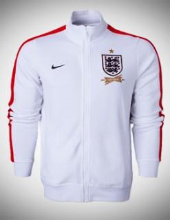 Áo khoác Anh trắng 2014 Áo khoác Anh trắng/đỏ 2013-2014, áo khoác nỉ Anh trắng/đỏ 2013-2014
