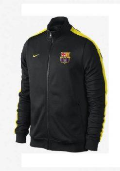 Áo khoác Barca 2013-2014 xanh đen