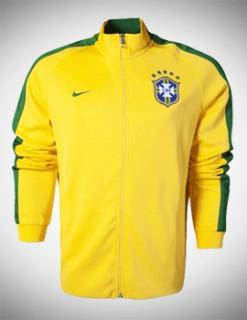 Áo khoác Brazil vàng 2014