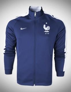 Áo khoác Pháp xanh 2014
