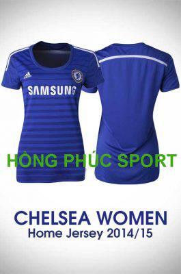 Áo nữ Chelsea sân nhà 2014-2015