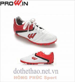 Giày đá banh Prowin trắng đỏ