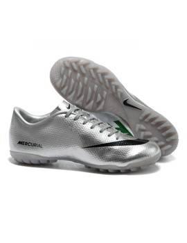 Giày bóng đá Nike Mercurial Vapor IX TF bạc
