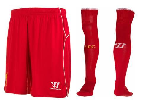quần và tất clb Liverpool 2014-2015