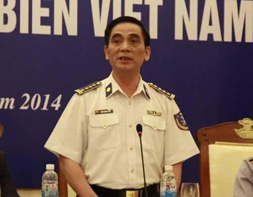 Ông Ngô Ngọc Thu, Phó tư lệnh, Tham mưu trưởng Bộ tư lệnh Cảnh sát biển - Ảnh: Lê Quân