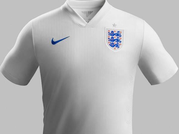 Chiếc áo đấu này có thiết kế giống chiếc áo đấu Tam sư đã sử dụng để đăng quang ở World Cup 1966.