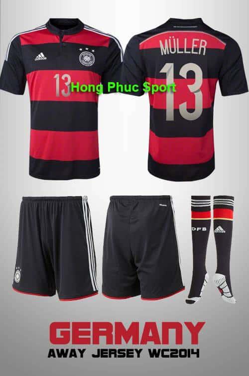 Bộ quần áo Tuyển Đức World Cup 2014
