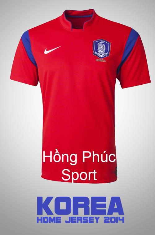 Áo tuyển Hàn Quốc WC2014 sân nhà