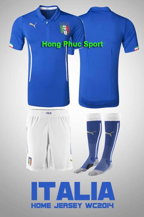 Bộ quần áo tuyển Ý World Cup 2014