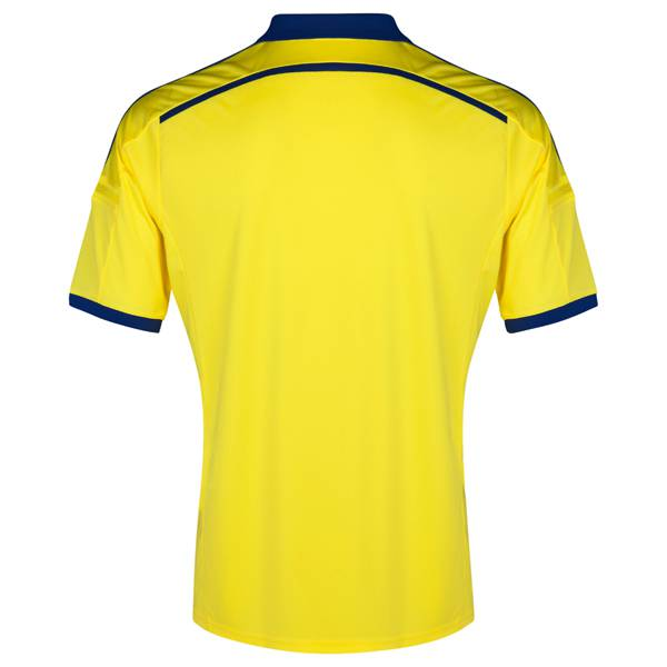 Mặt sau Mẫu áo bóng đá CLB Chelsea sân khách 2014-2015