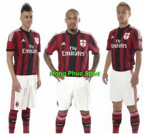 Áo AC Milan 2014-2015 sân nhà