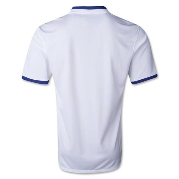 Mặt sau áo tuyển Bồ Đào Nha World Cup 2014 sân khách