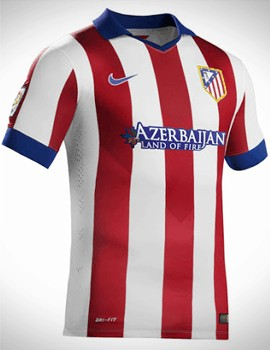 Áo Atletico Madrid 2014-2015 sân nhà