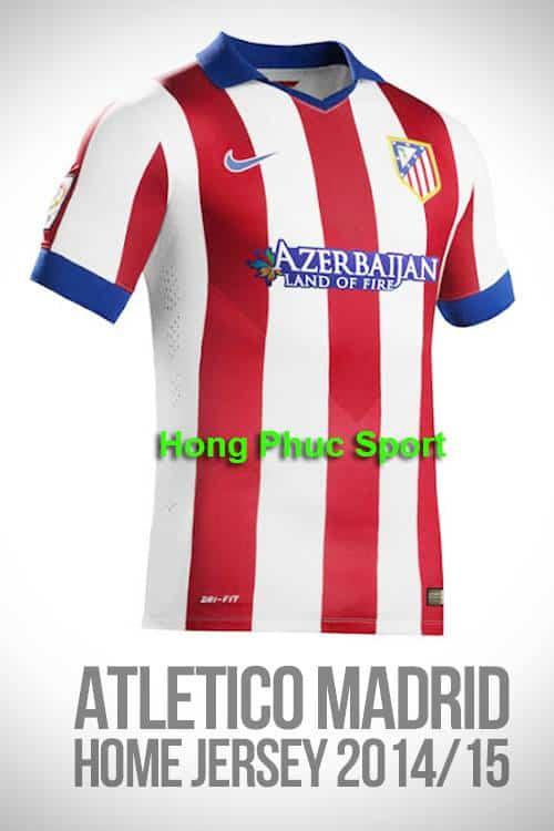 Áo Atletico Madrid 2014-2015 sân nhà Áo Atletico Madrid 2014-2015 sân nhà