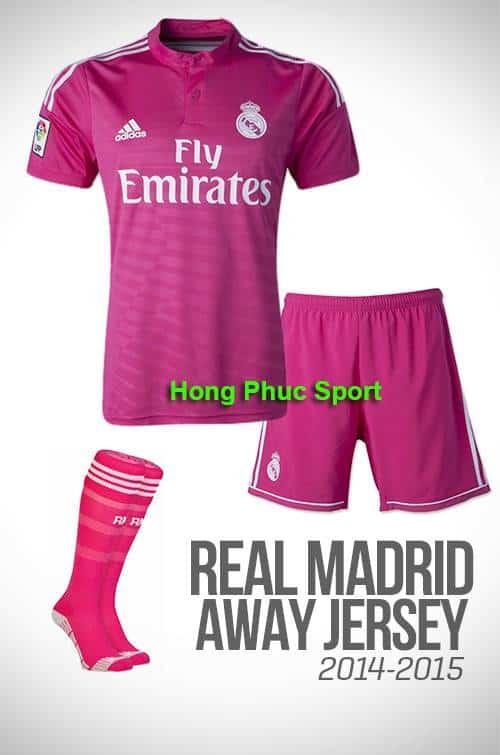 Bộ quần áo Real Madrid 2014-2015