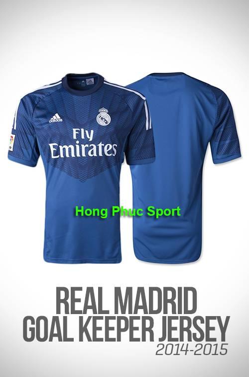 Áo thủ môn Real Madrid xanh 2014-2015