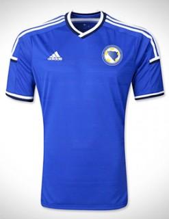 Áo tuyển Bosnia và Herzegovina WC2014 sân nhà