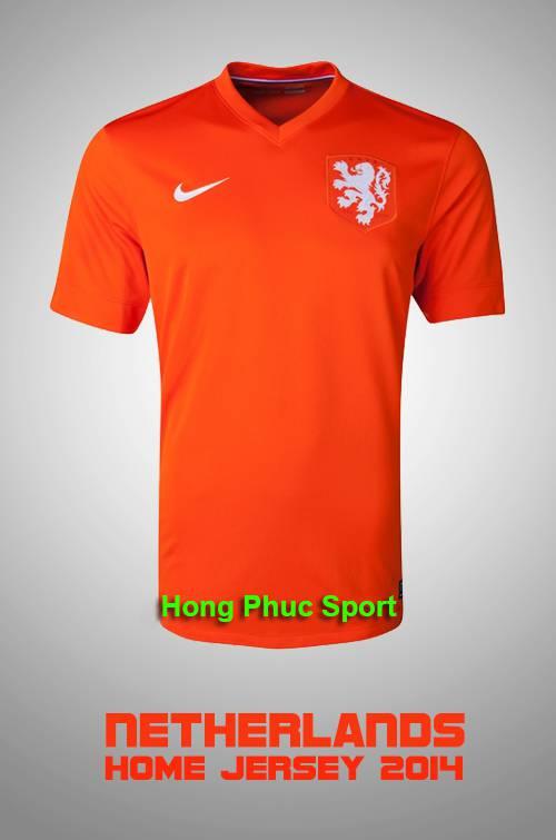 Áo tuyển Hà Lan World Cup 2014 sân nhà