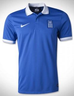 Áo tuyển Hy Lạp World Cup 2014 sân khách