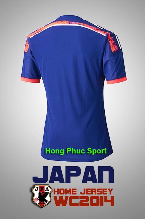 Mặt sau tuyển nhật sân nhà world cup 2014