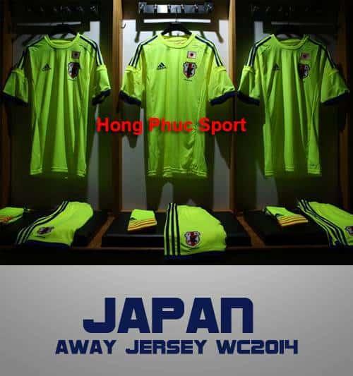 Shop bán Áo tuyển Nhật WC2014 sân khách