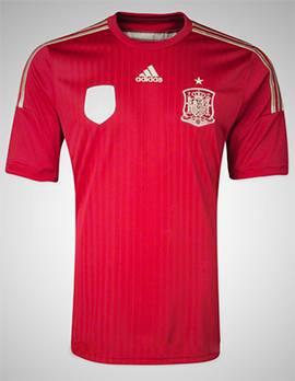 áo tuyển Tây Ban Nha World Cup 2014