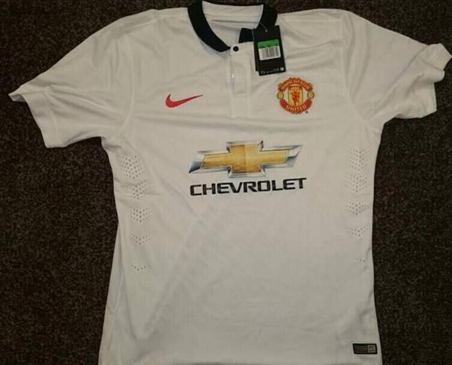 Mẫu áo đấu sân khách mới của Manchester United.