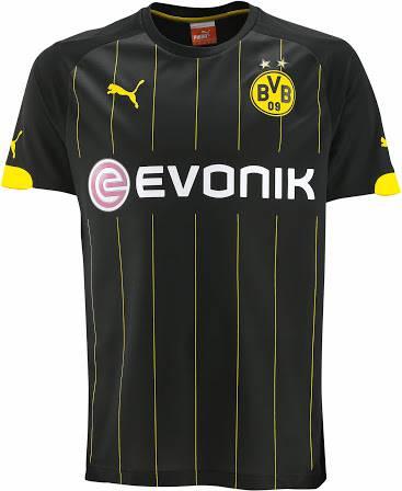 Áo Dortmund 2014- 2015 sân khách