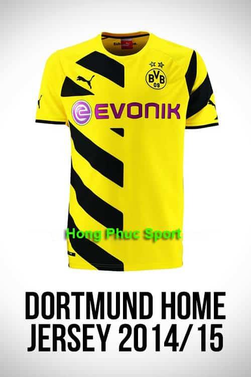 Áo Dortmund 2014- 2015 sân nhà