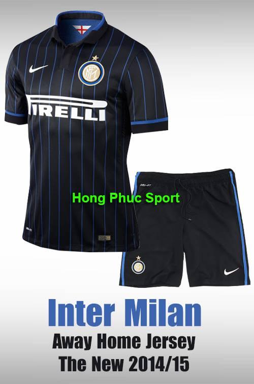 Bộ quần áo Inter Milan 2014-2015 sân nhà
