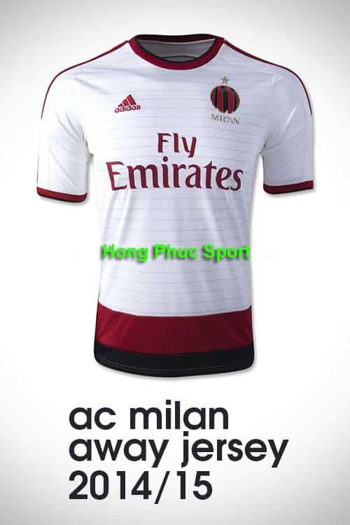 Áo AC Milan 2014-2015 sân khách