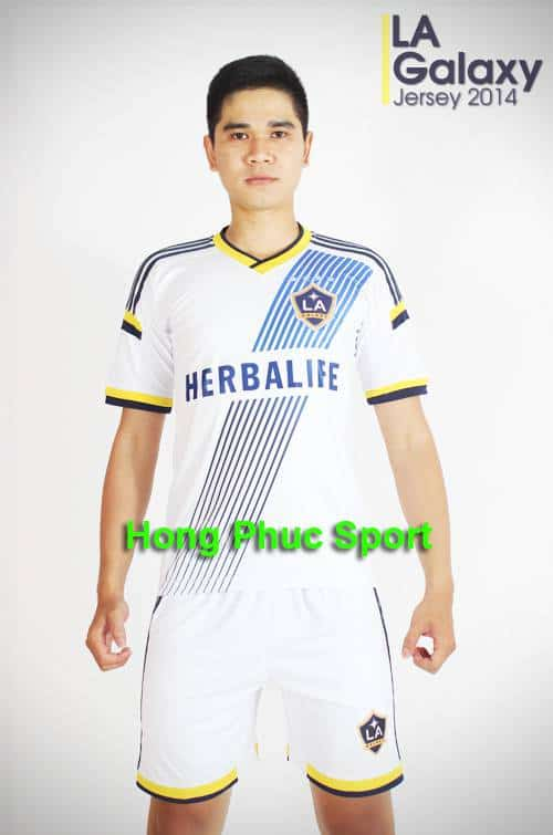 Bộ quần áo LA Galaxy 2014 sân nhà